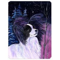 Starry Night Papillon Mouse Pad