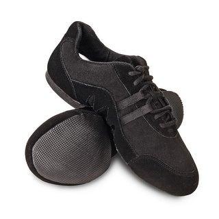 Sansha Adult Black Canvas Suede Rubber Split Sole Buzz 3 Jazz Shoes Womens