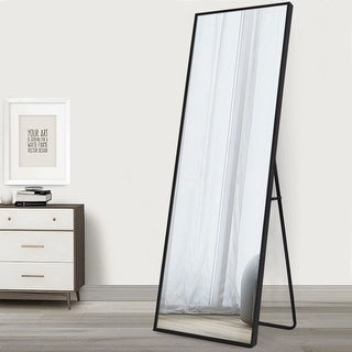 Link to Modern Floor Mirror Full Length Mirror - 64x21 Similar Items in Mirrors