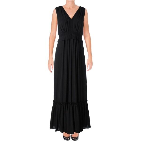Shop Ivanka Trump Womens Casual Dress Tiered Sleeveless