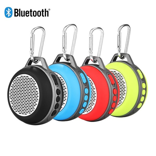 Portable Mini Bluetooth Speaker w/ Enhanced Bass & Built-in Mic, Compact Size for Home Outdoor Travel-Yellow