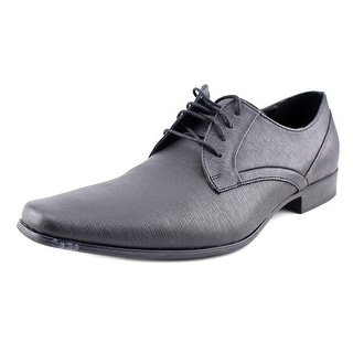 Calvin Klein Benton Men  Square Toe Leather  Oxford