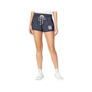 Ultra Flirt Womens Juniors Shorts Heathered Colorblock - M