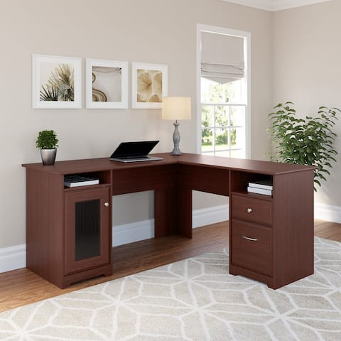 Copper Grove Burgas L-shaped Computer Desk