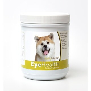 Healthy Breeds Akita Dog Eye Care Support Soft Chews 75 Count