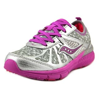 Saucony Girl Volt Youth Round Toe Synthetic Gray Sneakers (Option: 13.5)|https://ak1.ostkcdn.com/images/products/is/images/direct/2f819f3765200323f9871e58047c406244e259bf/Saucony-Girls-Volt-Youth-Round-Toe-Synthetic-Sneakers.jpg?impolicy=medium