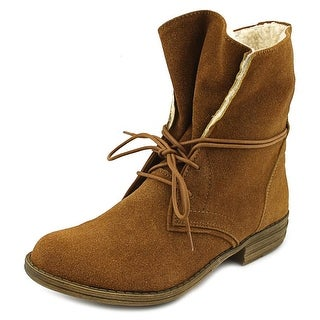 American Rag Davey Women Round Toe Synthetic Brown Ankle Boot