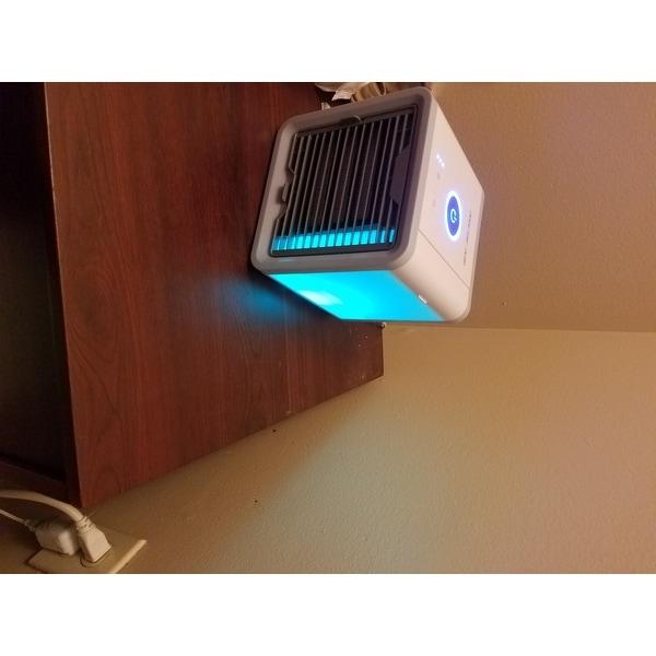 Shop Arctic Air AA-MC4 As Seen On TV Portable Air Conditioner, White ...