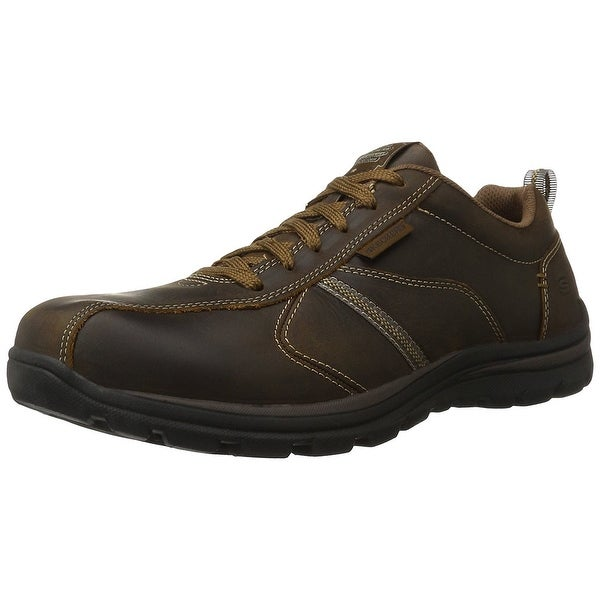 Skechers USA Men's Superior Levoy Oxford, Dark Brown