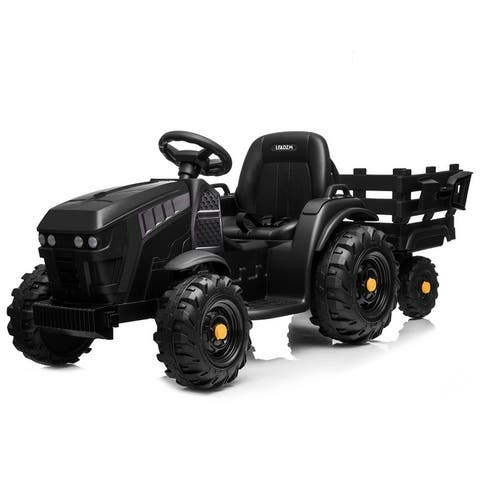 12V Kids Ride On Agricultural Vehicle Battery with Rear Bucket