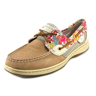 Sperry Top Sider Bluefish Liberty Moc Toe Leather Boat Shoe