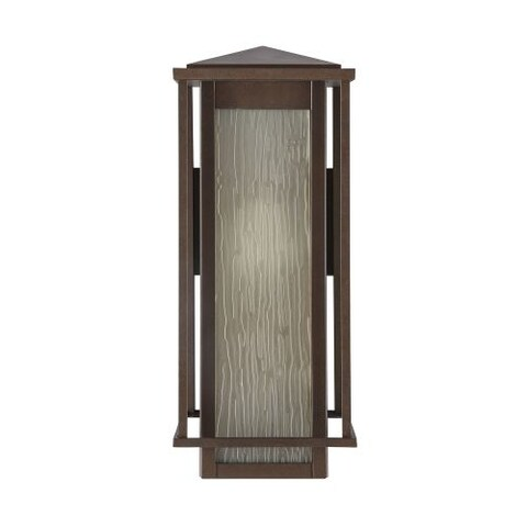 "Park Harbor PHEL1701 Beech Lane 16"" Tall Single Light Outdoor Wall Sconce"