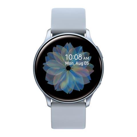 Samsung Galaxy Watch Active2 Smartwatch 40mm Aluminum, Silver (Certified Refurbished)