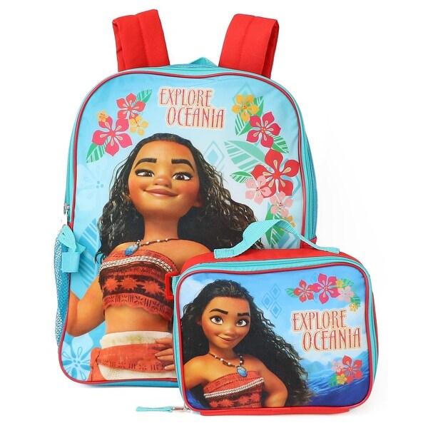 724ba0065e1 Shop Disney Moana Backpack Lunchbox Set - Free Shipping On Orders Over  45  - Overstock - 26267854