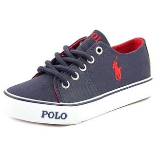 Polo Ralph Lauren Crofton Round Toe Canvas Sneakers