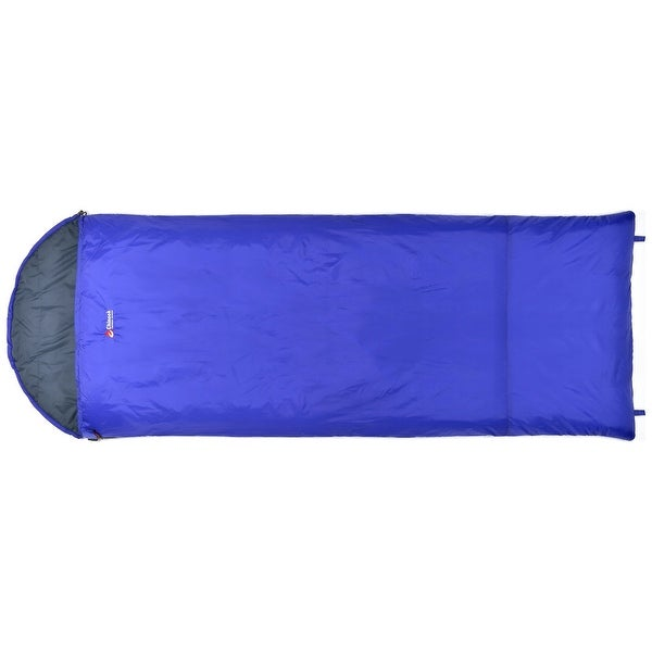 Chinook Thermopalm Hooded Rectangle Sleeping Bag 32f 0c Blue