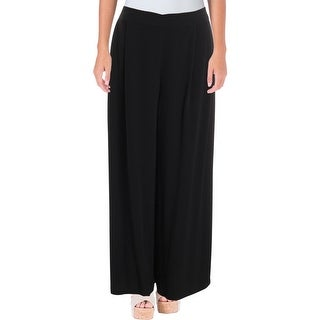 Eileen Fisher Womens Wide Leg Pants Casual Pull On