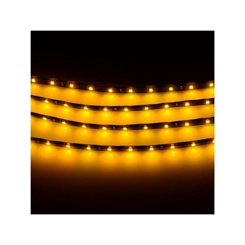 4pcs 30CM/15 LED Waterproof Car Motors Truck Strip Light DC 12V Car Lights for Exterior Front Grille Rear Vehicle Body
