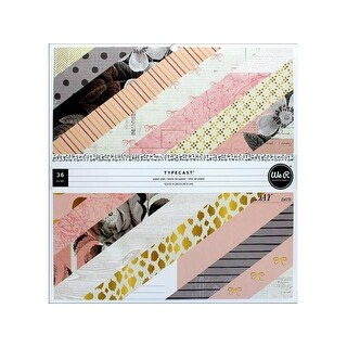 We R Memory Typecast Paper Pad 12x12 Pink