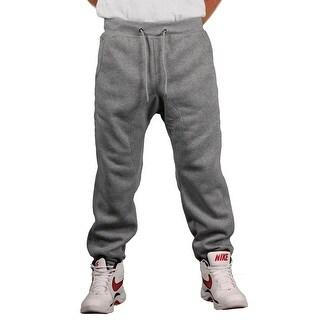Brooklyn Xpress Men's Fleece Solid Jogger Pant