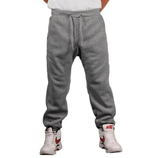 Brooklyn Xpress Men's Fleece Solid Jogger Pant (Option: Grey)