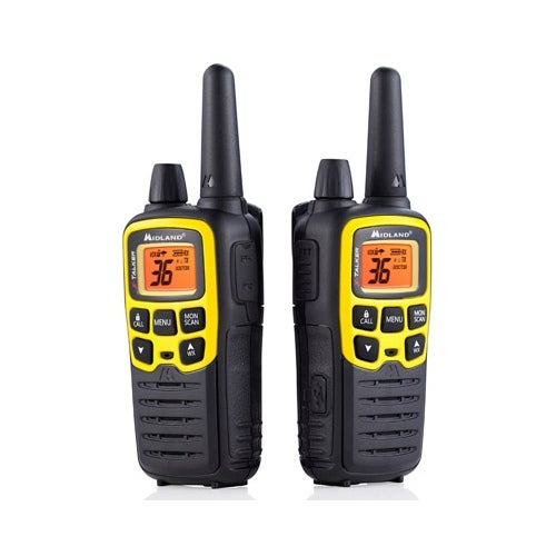 Midland X-TALKER T61VP3 GMRS Two-Way Radio w/ Up To 32 Mile Range & Water Resistant