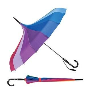 Unisex Adult Color Spectrum Rainbow Pagoda Umbrella