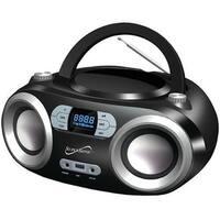 Supersonic Sc509Bt Boombox Bt CD Fm Usb Black