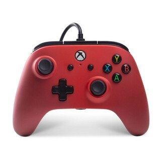 Power A Enhanced Wired Controller for Xbox One & Windows 10 - 5.4 x 6 x 2.6