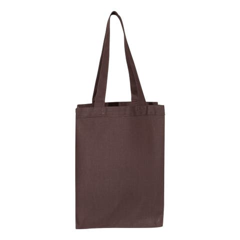 Q-Tees - 12L Gussetted Shopping Bag