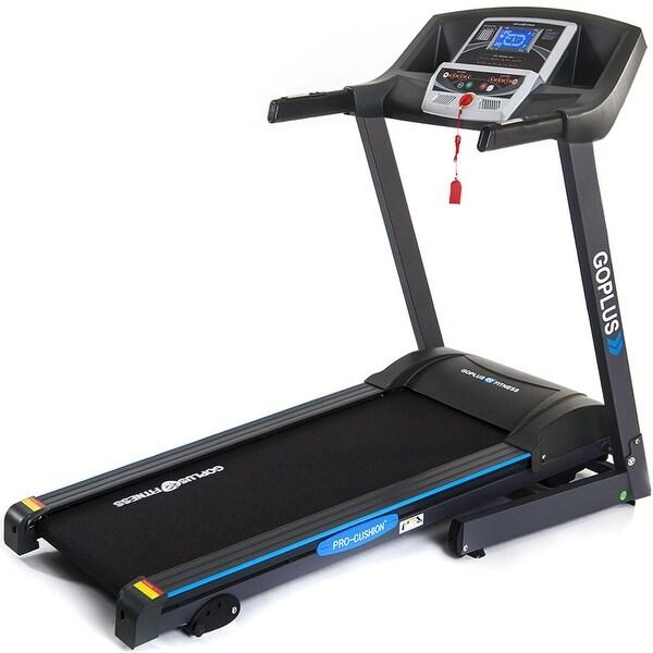 Costway 2.25HP Folding Electric Treadmill Motorized Power Running Machine Fitness