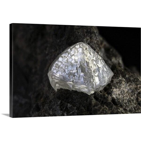 """Diamond on Kimberlite"" Canvas Wall Art"