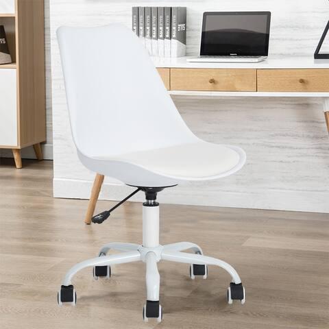 Porch & Den Stringer Molded/ Padded Seat Mid-century Modern Task Chair