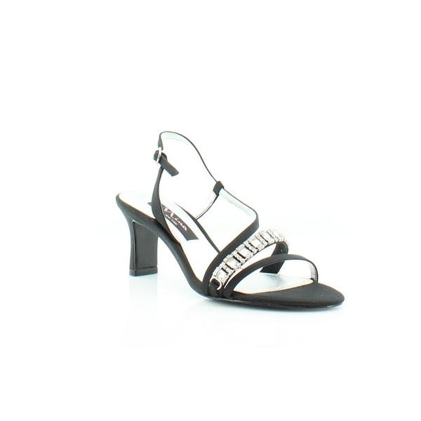 Nina Gerine Women's Heels Black Luster