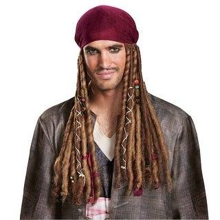 Adult Jack Sparrow Bandana & Dreads Wig