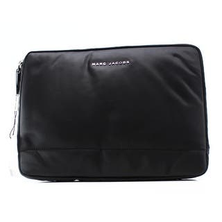Marc Jacobs NEW Black Nylon 13 Commuter Mallorca Padded Clutch Bag|https://ak1.ostkcdn.com/images/products/is/images/direct/2f90061ce6669efe665b878fa0c57d7c6df9b50b/Marc-Jacobs-NEW-Black-Nylon-13-Commuter-Mallorca-Padded-Clutch-Bag.jpg?impolicy=medium