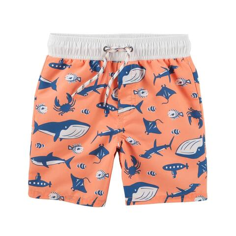 OshKosh B'gosh Baby Boys' Creatures Swim Trunks