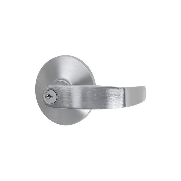 Delaney 699132 Exit Device Exterior Trim (only) for Passage Levers - Brushed Chrome