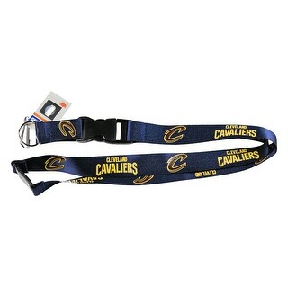 Cleveland Cavaliers Lanyard Keychain Id Clip Ticket NBA - Blue