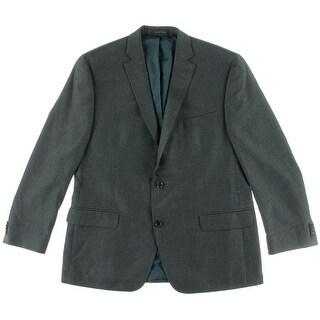 MICHAEL Michael Kors Mens Plaid Double Vent Sportcoat