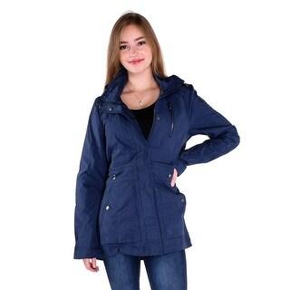 Pajar Mikka Ladies Nylon Rain Jacket in Navy
