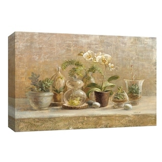 """PTM Images 9-153898  PTM Canvas Collection 8"""" x 10"""" - """"Greenhouse Orchids"""" Giclee Flowers Art Print on Canvas"""