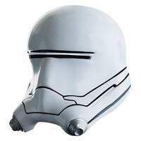 Star Wars The Force Awakens Child Costume Accessory Flametrooper 2-Piece Helmet - White