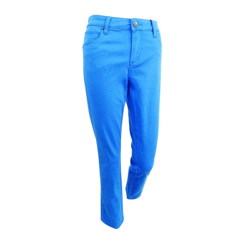Kut from the Kloth Women's Straight Ankle Jeans (4, Victoria Blue) - Victoria Blue - 4