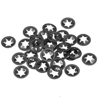 Starlock Washers , M6x14  Internal Tooth Clips Fasteners Kit , Pack of 30 - M6x14,30pcs
