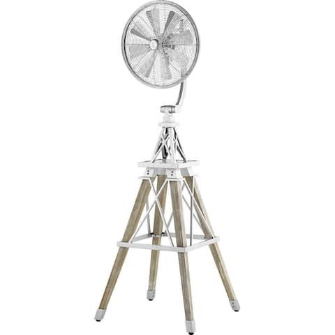 WindFlower Ceiling Fan Galvanized - Exact Size