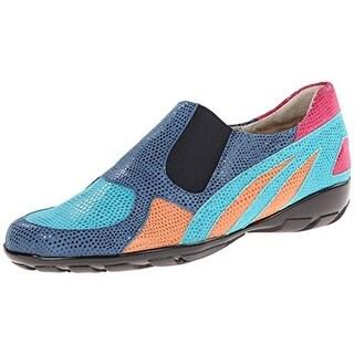 VANELi Womens Attie Suede Colorblock Loafers - 9.5 wide (c,d,w)