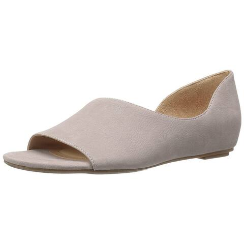 6ca31389dd63 Naturalizer Womens Lucie Leather Open Toe Casual Slide Sandals