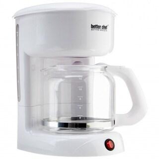 Better Chef IM-111W 12 Cup White Coffeemaker