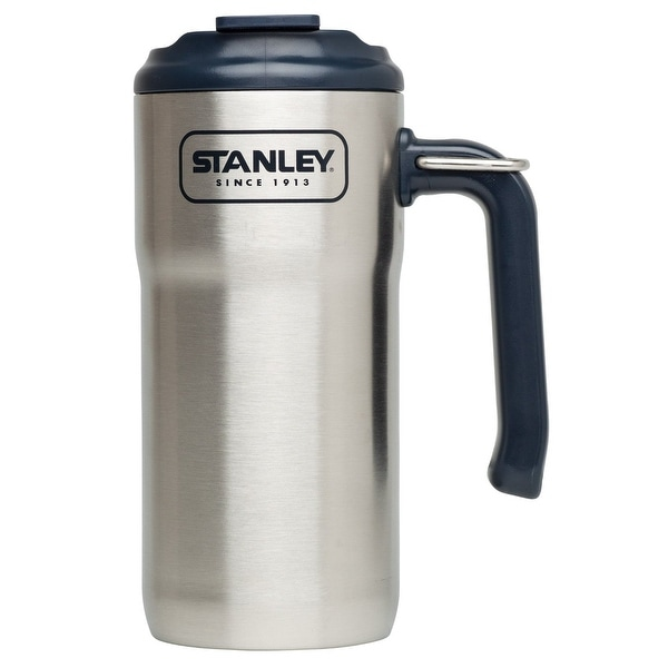 Stanley 10-01901-001 Adventure Travel Mug, Stainless Steel, 16 oz.